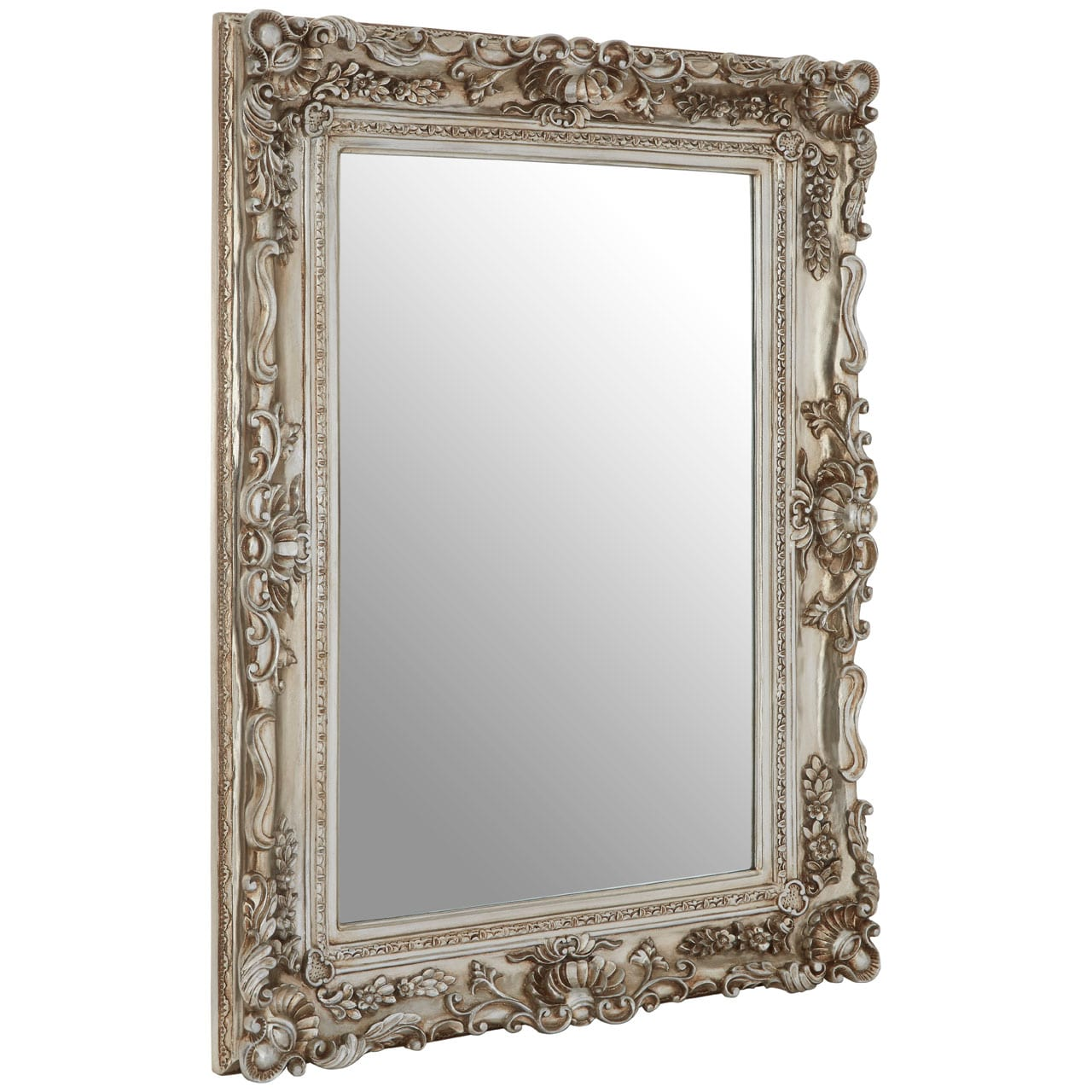 Cannes Champagne Corner Clam Wall Mirror