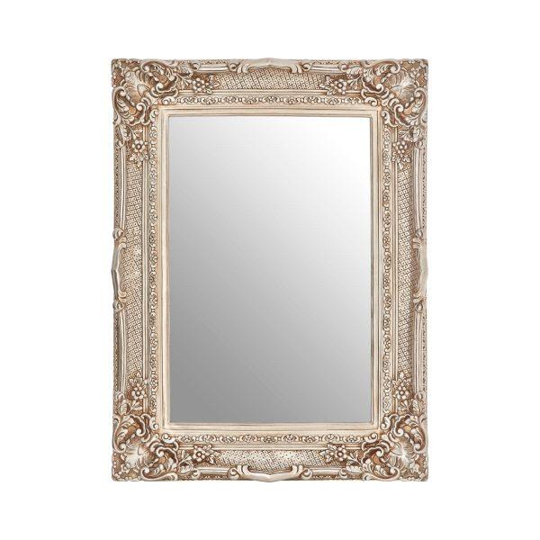 Cannes Champagne Corner Leaf Wall Mirror