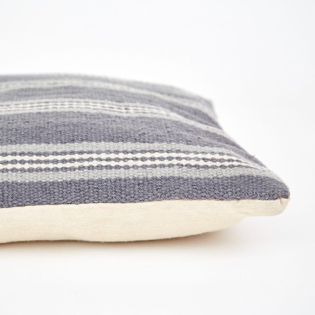 Clay Henley Stripe Cushion 1