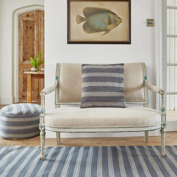 Clay Henley Stripe Cushion