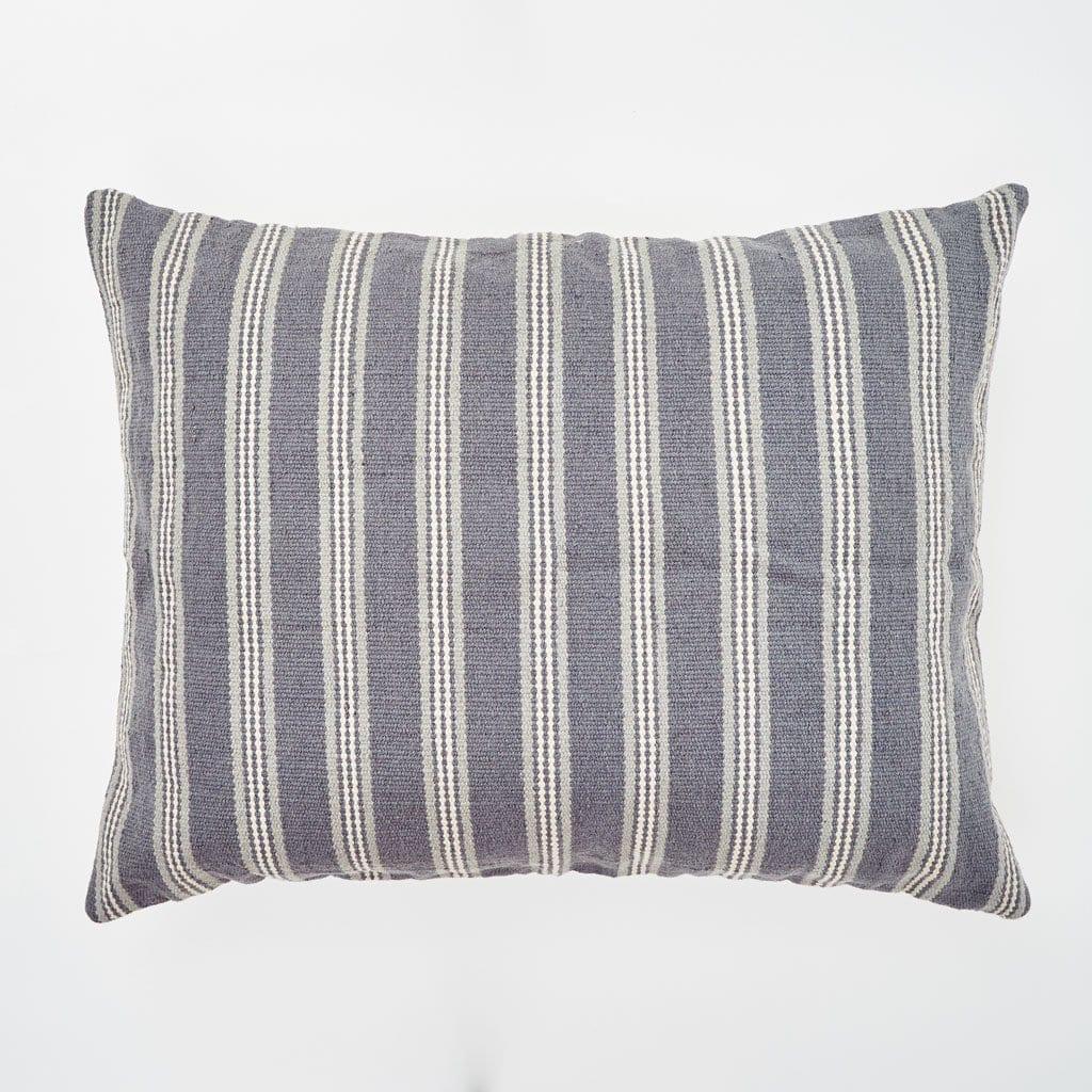 Clay Henley Stripe Floor Cushion 1