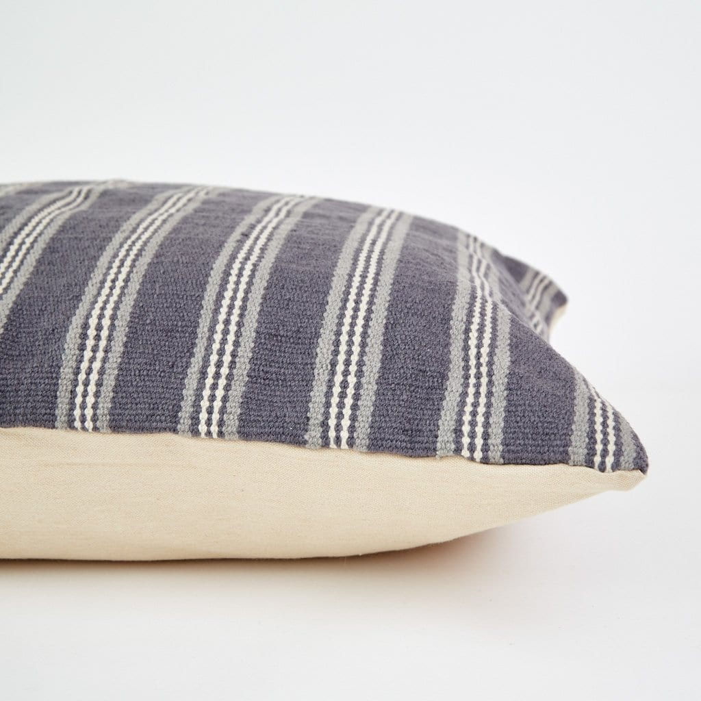 Clay Henley Stripe Floor Cushion 2