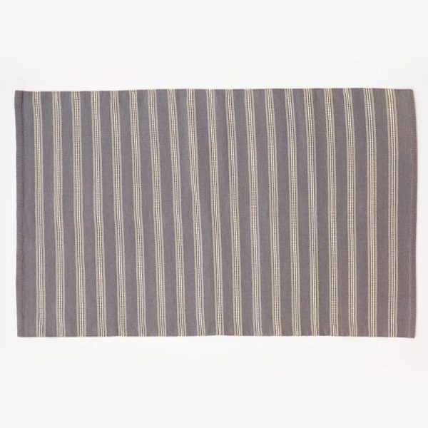 Clay Henley Stripe Rug 1