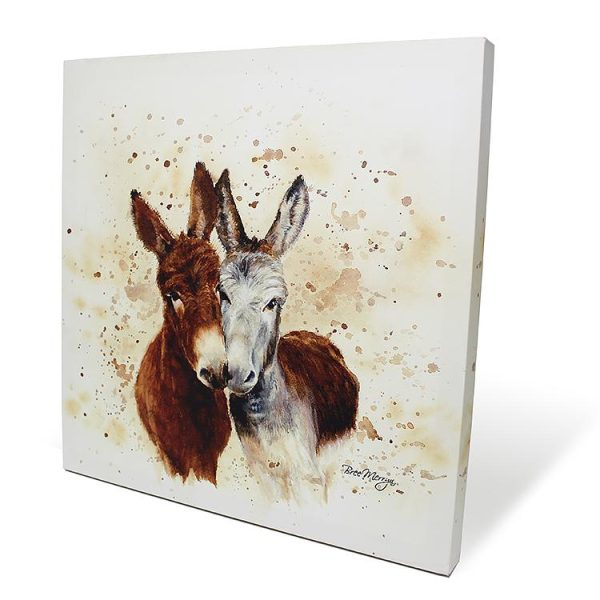 Colourful Jack & Diane Box Canvas
