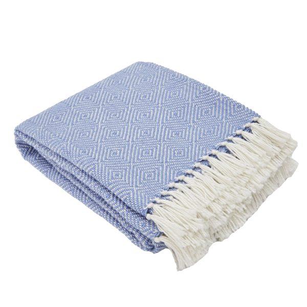 Diamond Cobalt Blanket