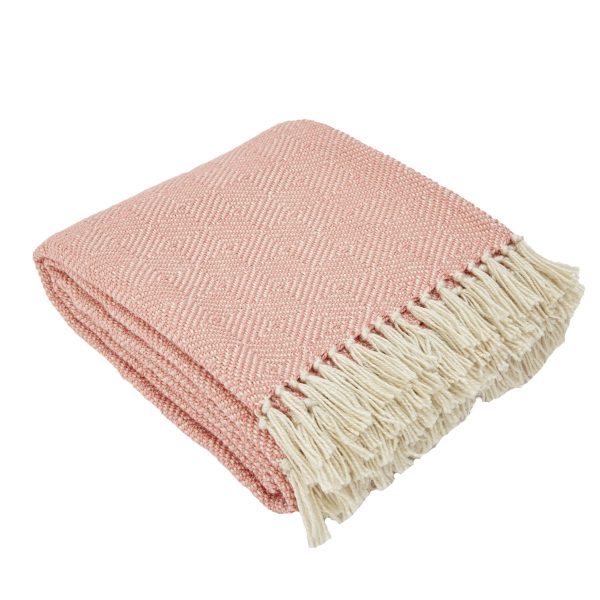 Diamond Coral Blanket