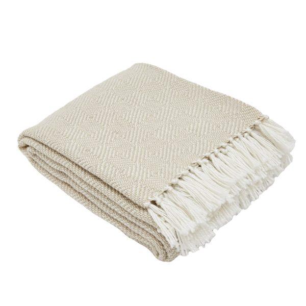 Diamond Linen Blanket