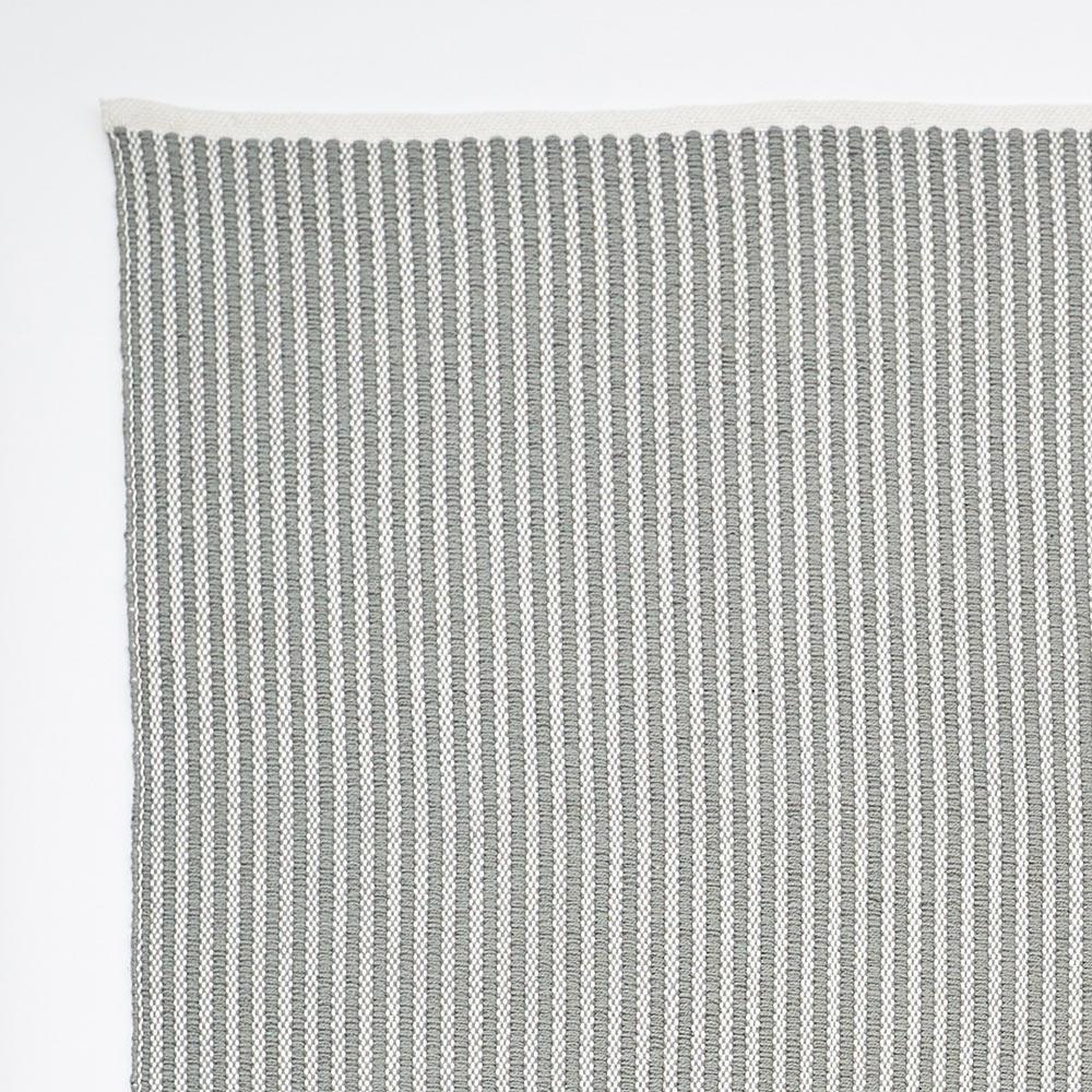 Dove Grey Brighton Stripe Rug