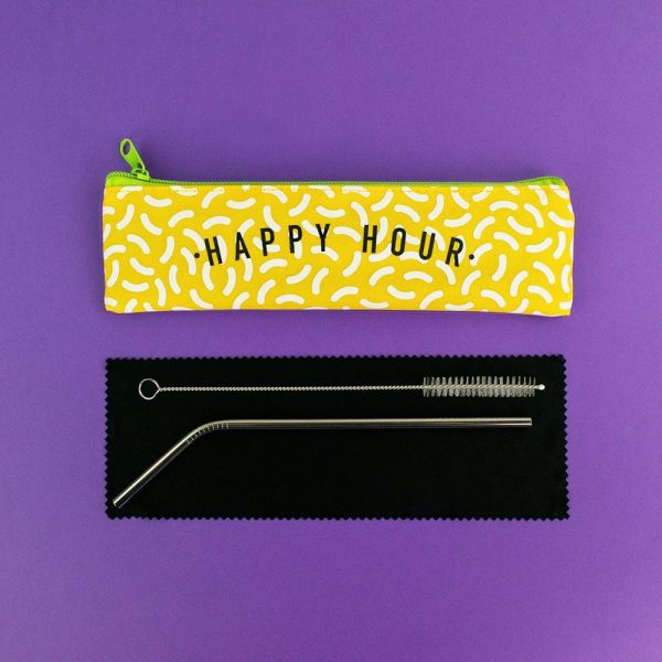 Happy Hour Straw Set