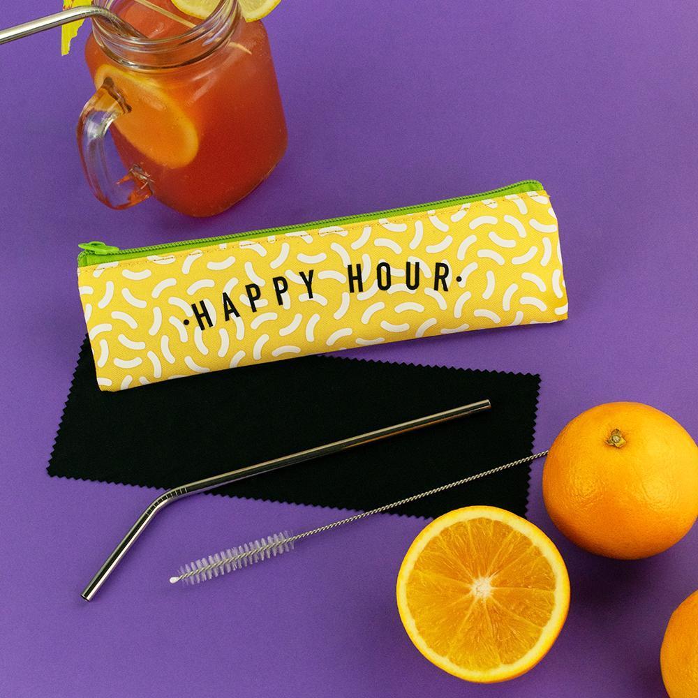 Happy Hour Straw Set