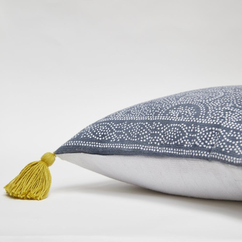 Kas Navy Cushion