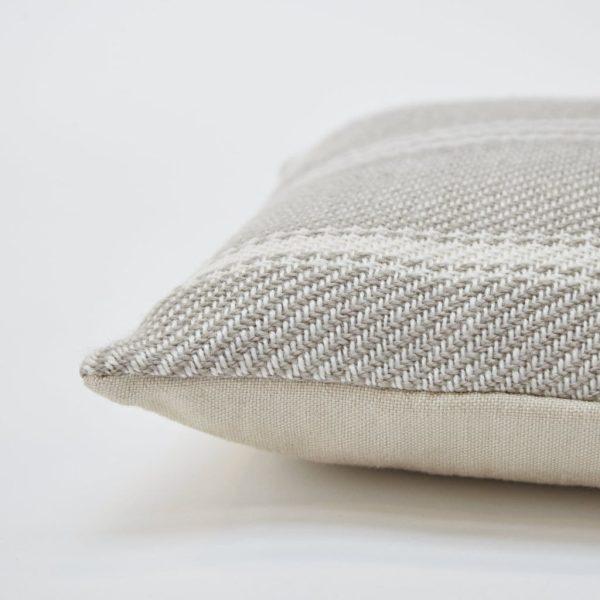 Lightweight Chinchilla Oxford Stripe Cushion