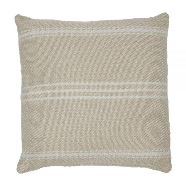 Lightweight Linen Oxford Stripe Cushion