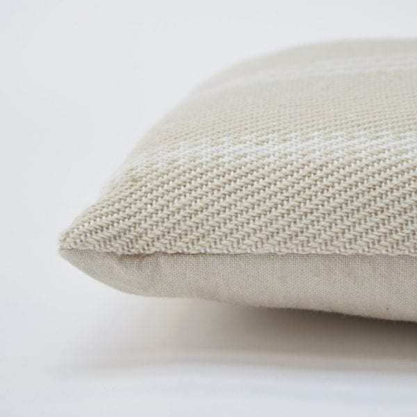 Lightweight Linen Oxford Stripe Cushion