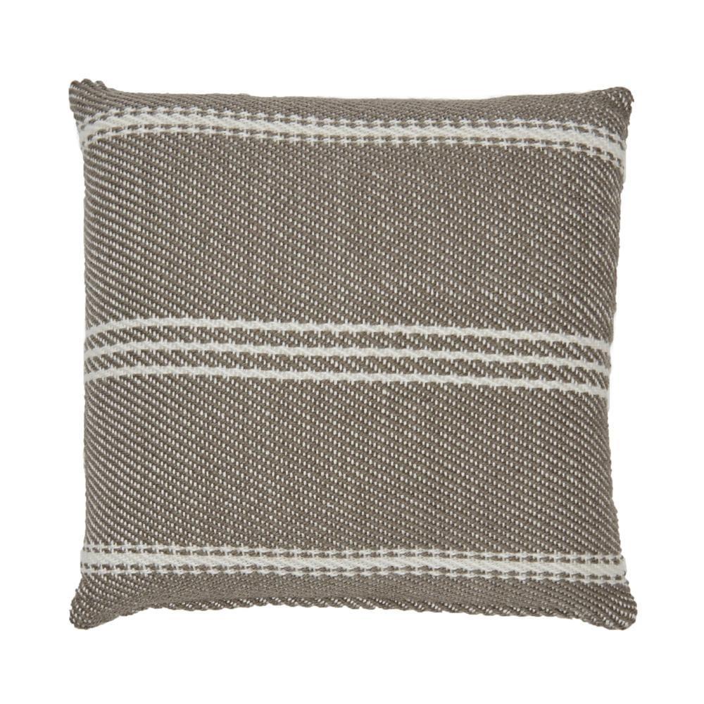 Lightweight Monsoon Oxford Stripe Cushion