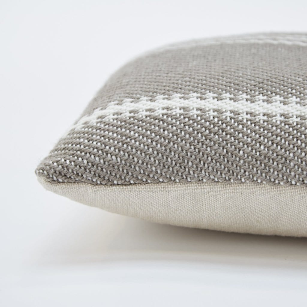 Lightweight Monsoon Oxford Stripe Cushion