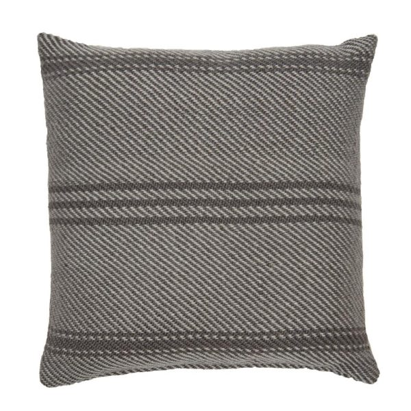 Lightweight Tabby Oxford Stripe Cushion