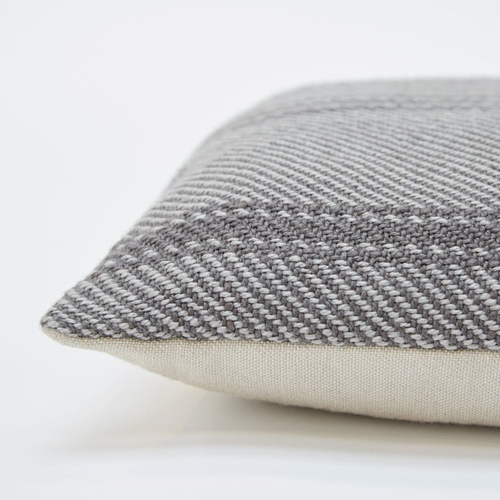 Lightweight Tabby Oxford Stripe Cushion