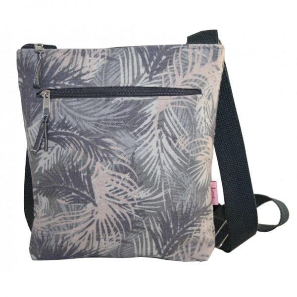Pink Palm Messenger Bag