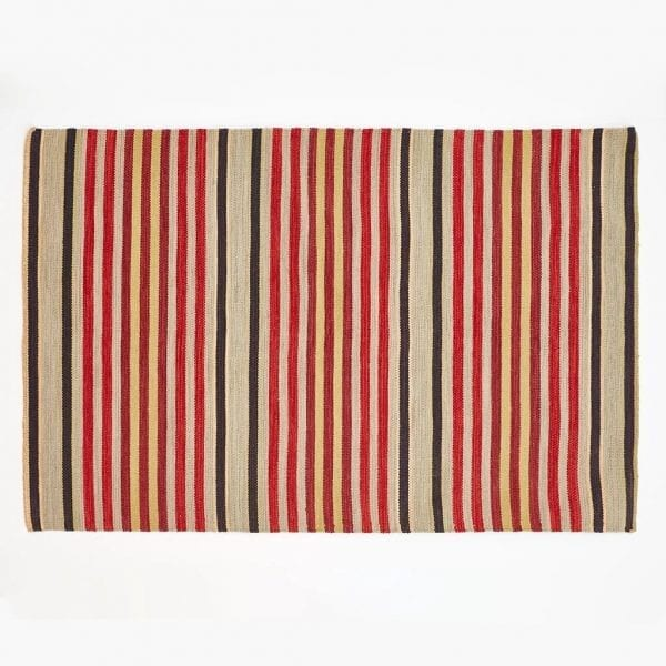 Regimental Stripe Rug 1