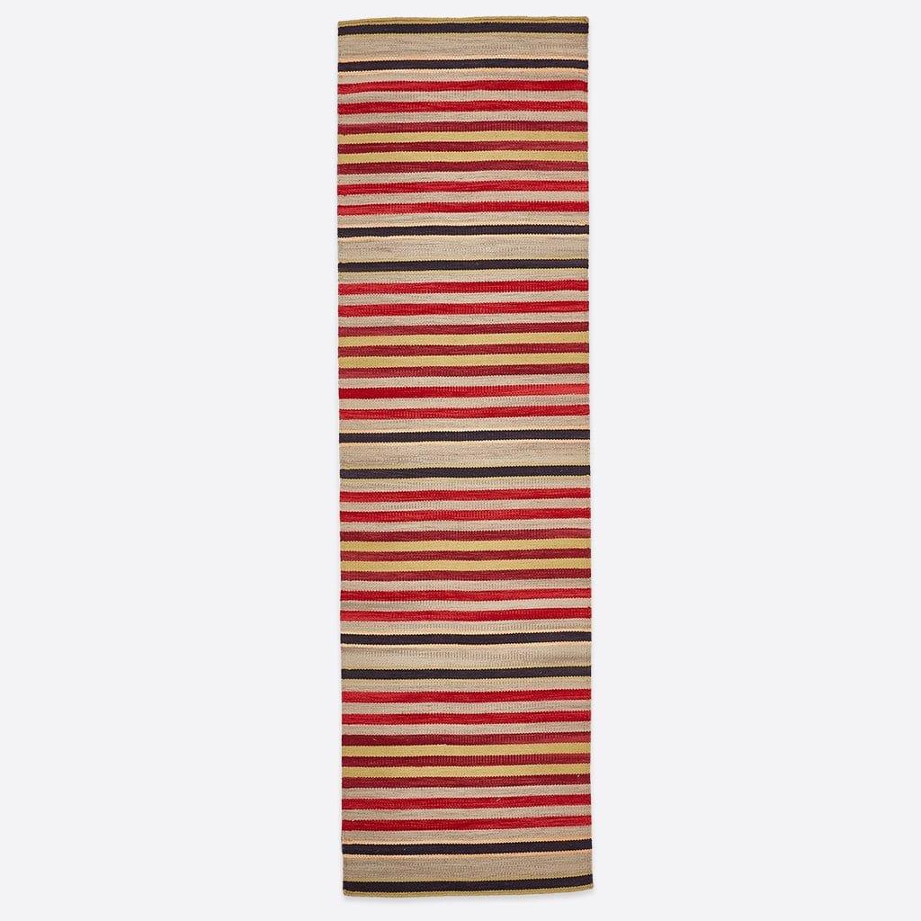 Regimental Stripe Rug 1
