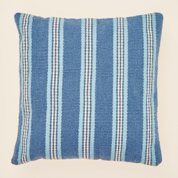Santorini Henley Stripe Cushion