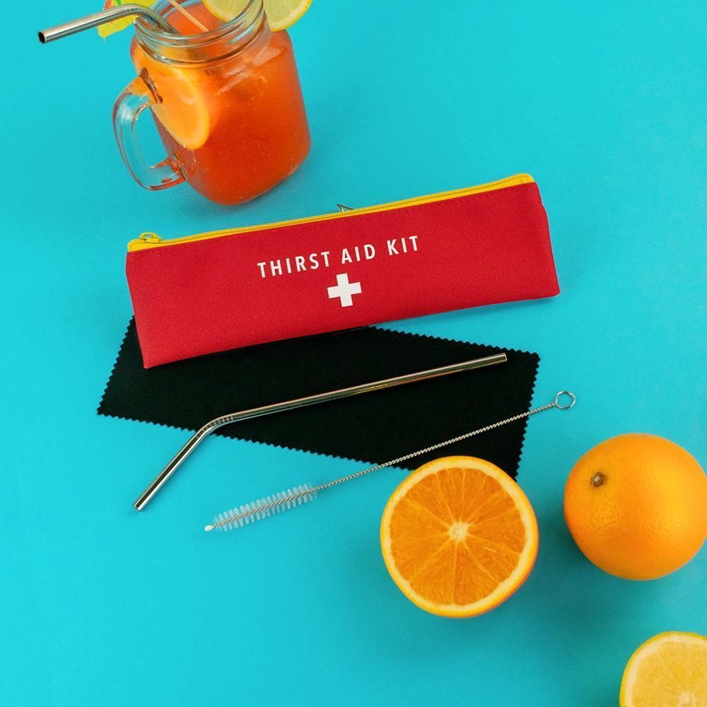 Thirst Aid Kit Straw Set