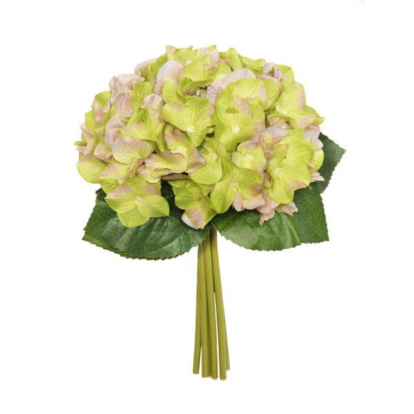 28cm Green Hydrangea