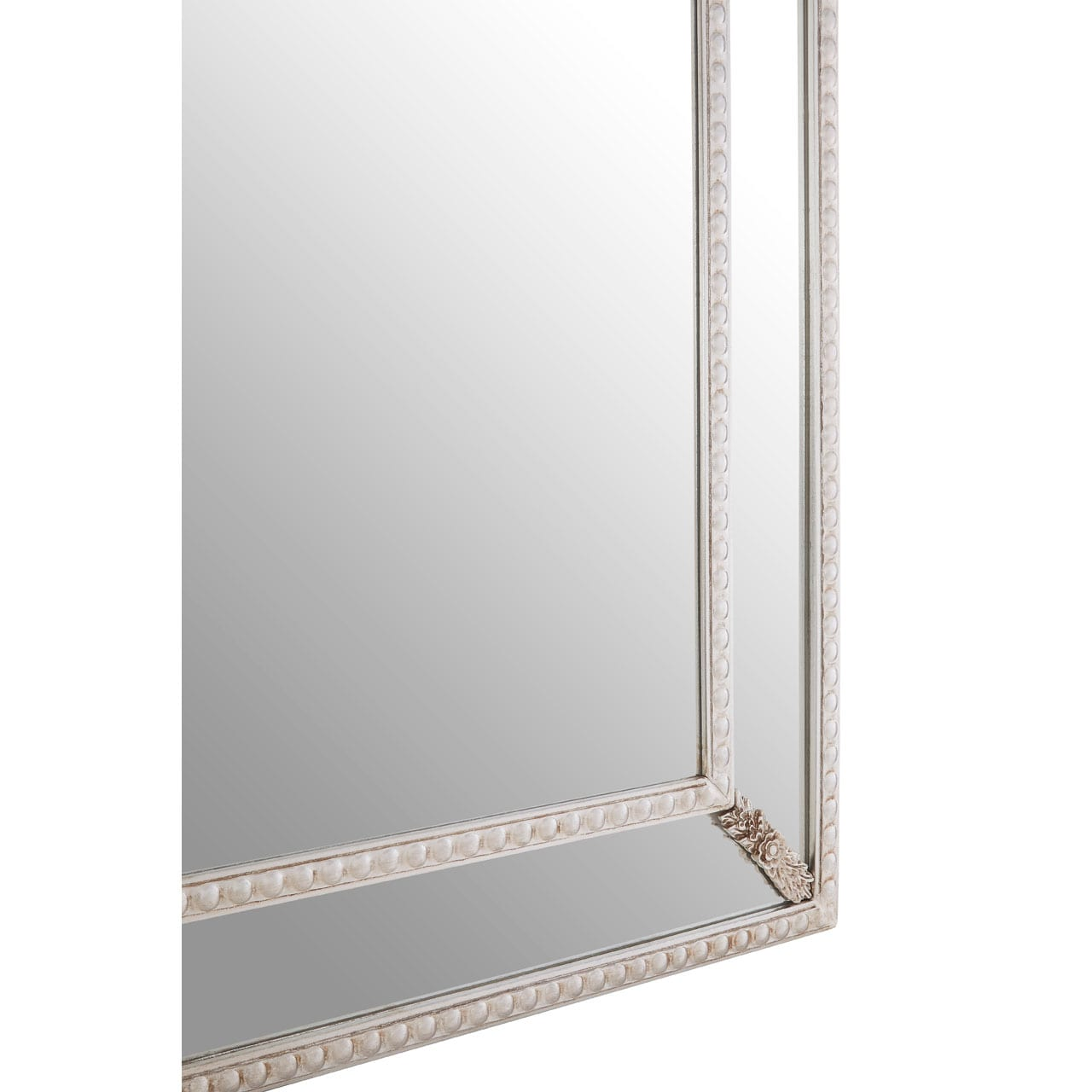 Cannes Champagne Leaf Corner Wall Mirror