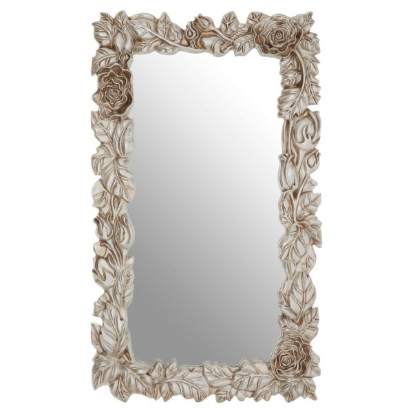 Cannes Champagne Leaf Wall Mirror