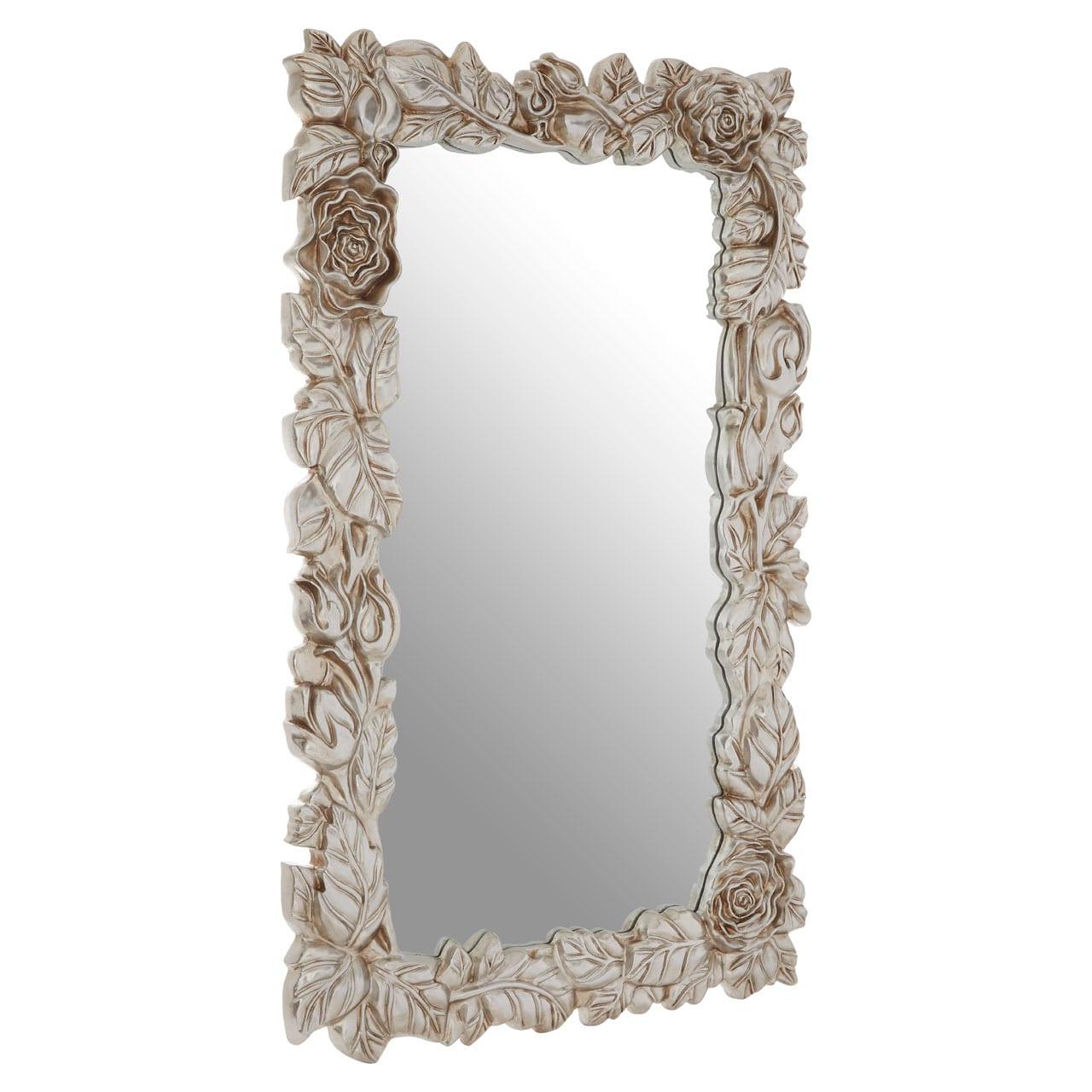 Cannes Champagne Leaf Wall Mirror