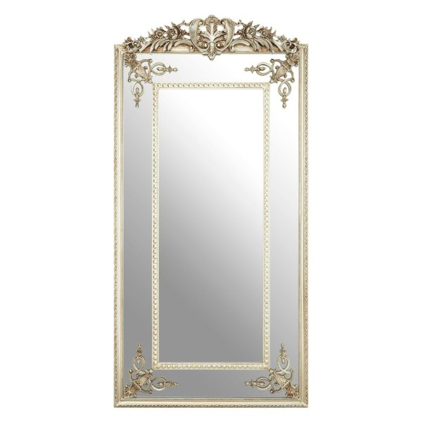 Cannes Champagne Rectangular Wall Mirror