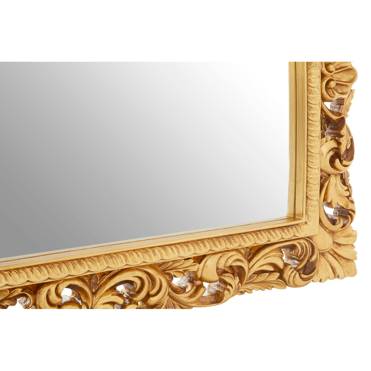Cannes Gold Landscape Wall Mirror
