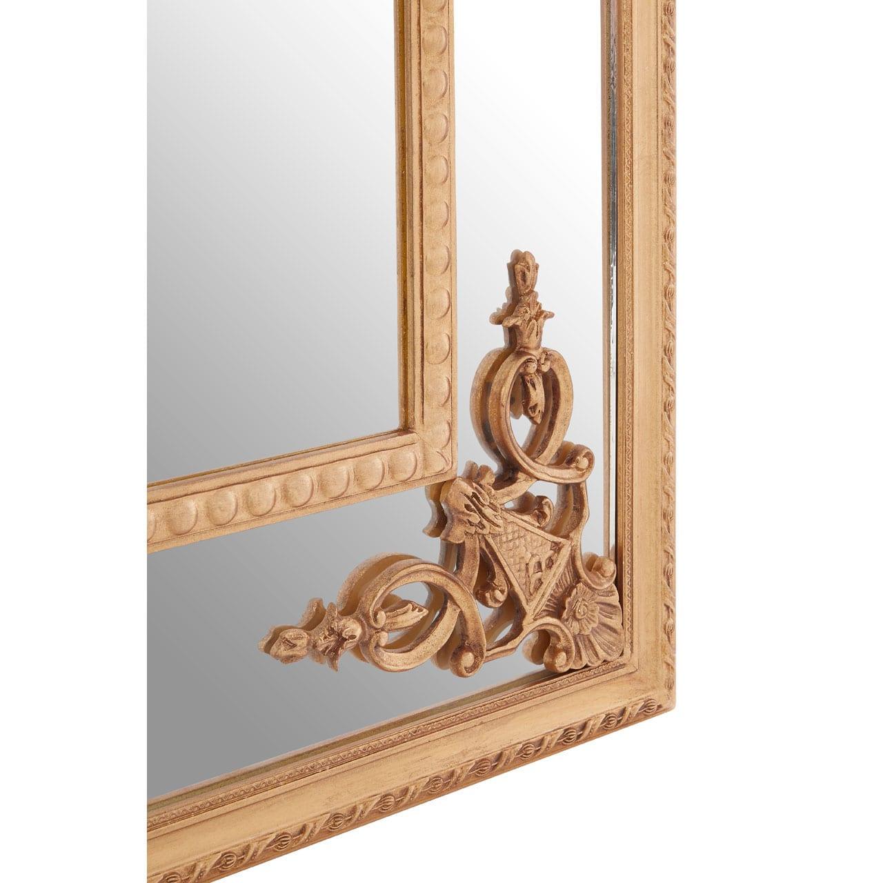 Cannes Gold Motifs Frame Wall Mirror