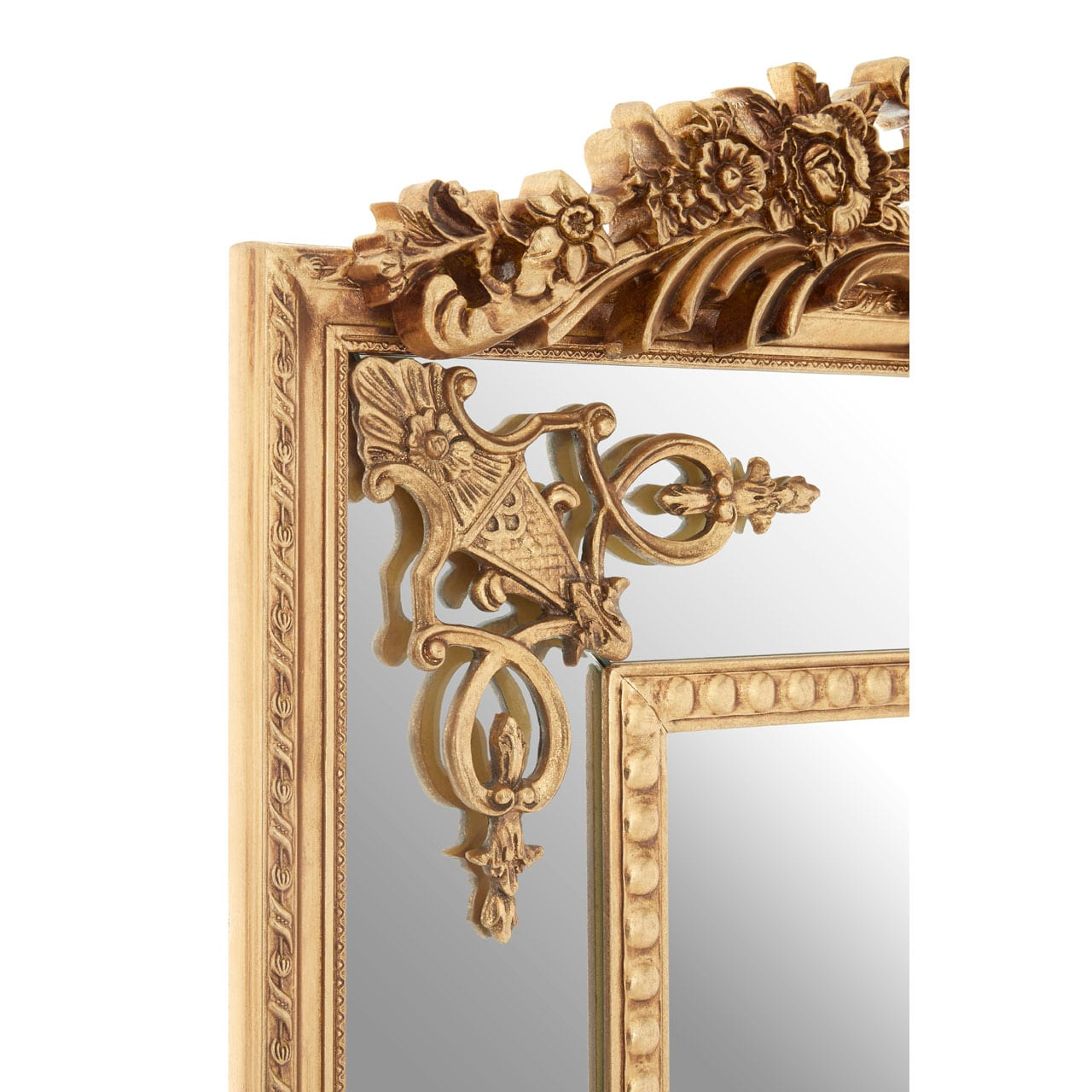 Cannes Gold Rectangular Wall Mirror