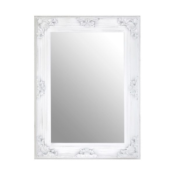 Cantata Antique White Wall Mirror