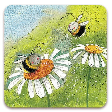 Daisy Bee Coaster