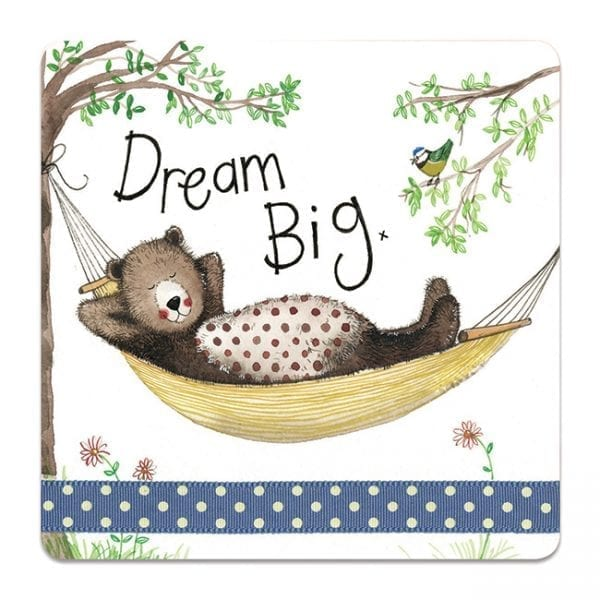 Dream Big Bear Coaster