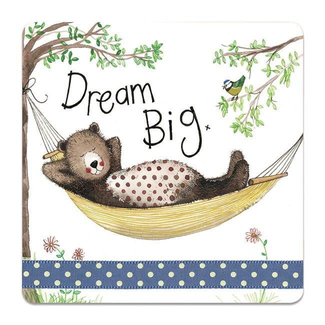 Dream Big Bear Coaster