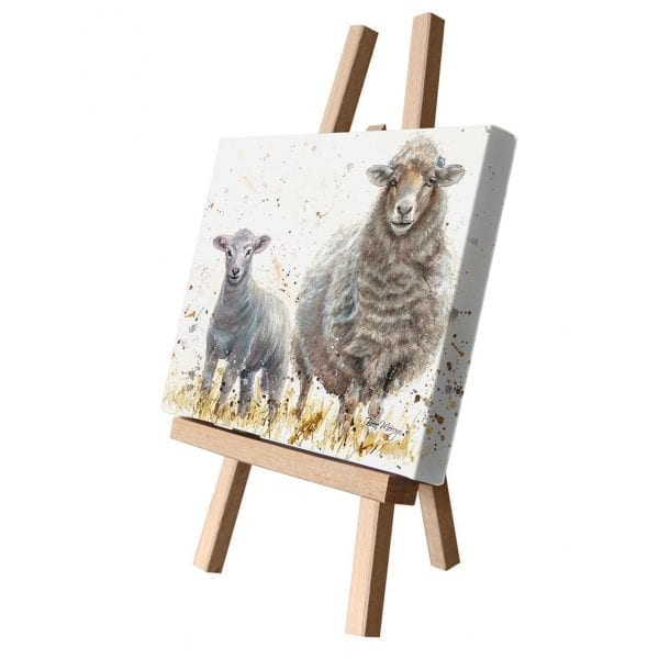 Ewe Beauties Canvas Cutie