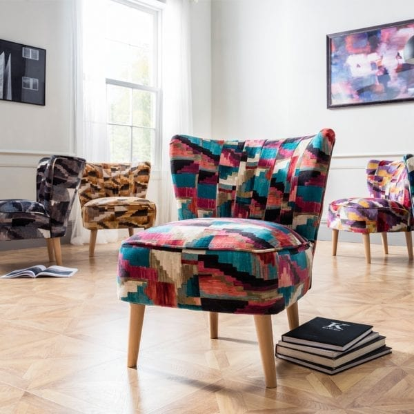 Iris Kaleido Accent Chair