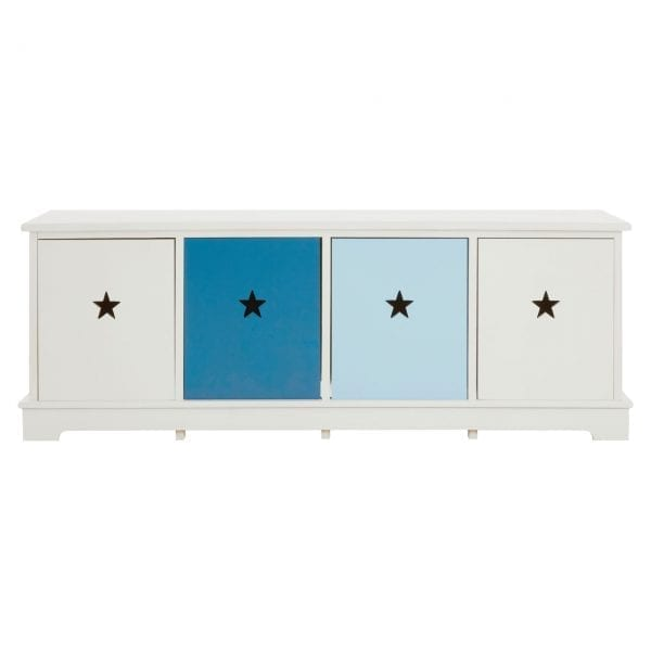 Joshua 4 Drawer Bench