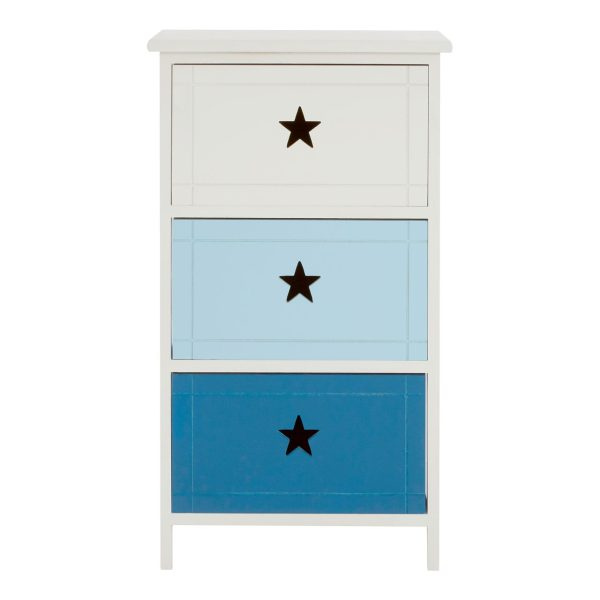 Joshua 3 Drawer Chest