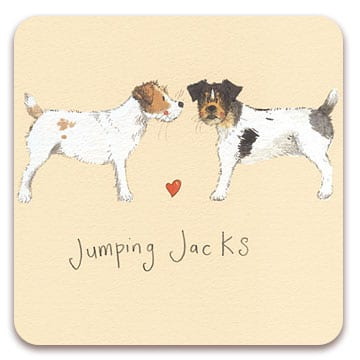 Jumping Jacks Dog Coaster