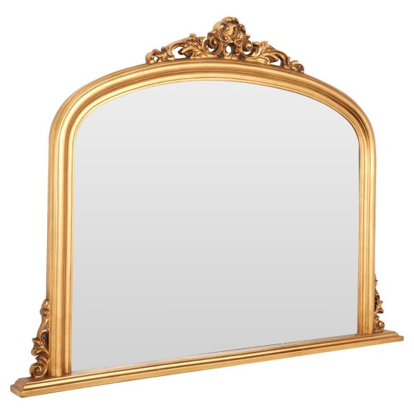 Kingsley Gold Wall Mirror