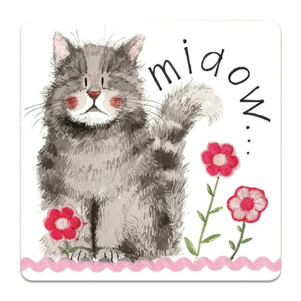 Miaow Cat Coaster