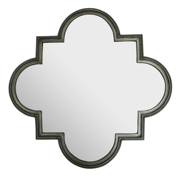 Monroe Antique Silver Wall Mirror