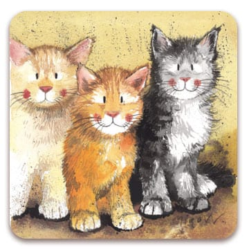 Rodger Dodger Cat Coaster