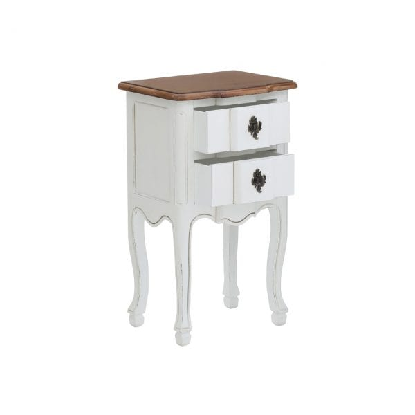Selkirk Side Table With 2 Drawers