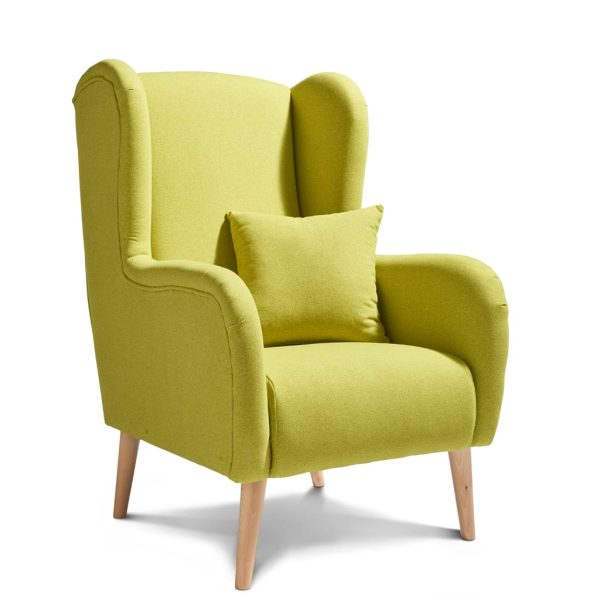 Sheena Dolly Citron Accent Chair